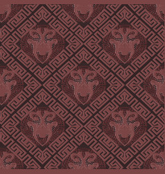 greek seamless pattern vector image