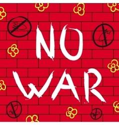 No war background vector