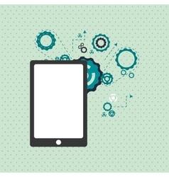 Smartphone icon design vector