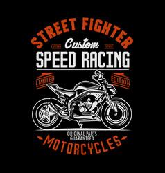 street fighter vector image