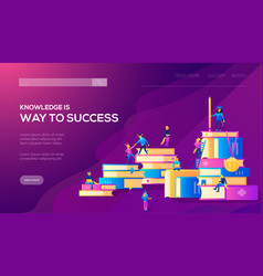 web page design templates for staff vector image