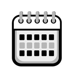 calendar date remember business events vector image