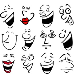 people emotions vector image