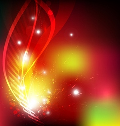 fantastic abstract design vector image vector image
