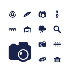 13 detail icons vector