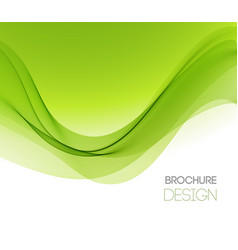 Abstract background with smooth color wave vector