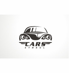 auto design car logo vector image