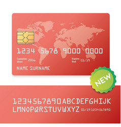 Banking business plastic card and payment vector