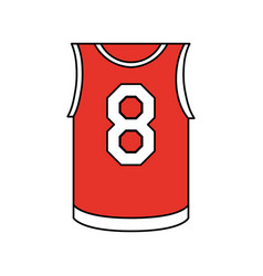 basketball uniform design vector image