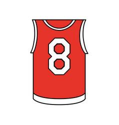 Basketball uniform design vector