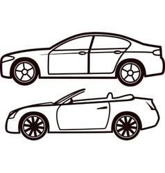 Car collection vector
