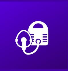 Nebulizer or inhaler icon vector