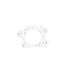 Network background on white vector