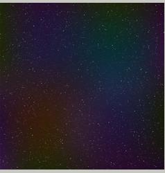 night starry sky cosmic dust vector image