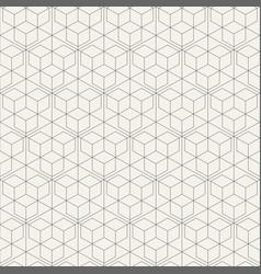 seamless linear pattern of straight thin lines vector image