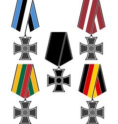 set of orders vector image