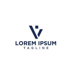 v people logo design inspiration vector image