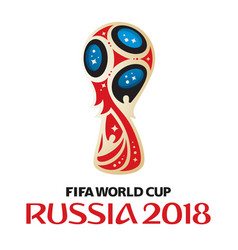 russia world cup 2018 vector image vector image