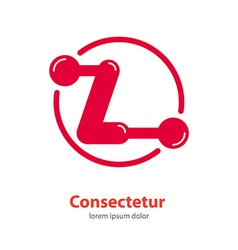 design template Corporate Logo Z Letter company vector image vector image