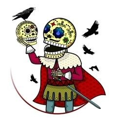 skeletons vector image vector image