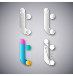 Abstract Combination of Letter Y vector