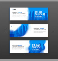 Abstract corporate web site slideshow template vector