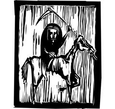 Famine Apocalypse vector image