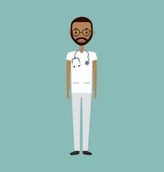 Medical doctor man vector