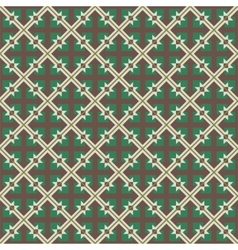 Repeating geometric seamless pattern vector image