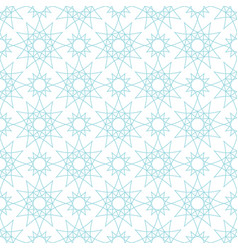 seamless pattern with geometrical figures vector image