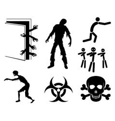 Zombies vector