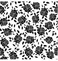 floral pattern flower rose ornamental background vector image vector image