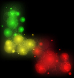 Blurred background abstract colorful ligth glowing vector image