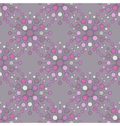 Seamless sphere pattern vector image