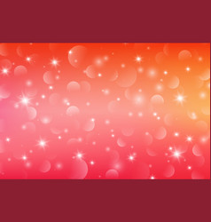 abstract of sweet colorful bokeh background vector image