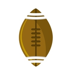 Ball of American football design vector