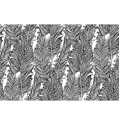 Beautiful seamless pattern with hand drawn vector