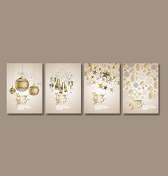 Concept luxury xmas design vector