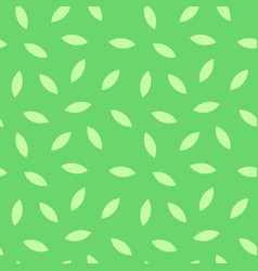 Green texture with leaves - colorful background vector