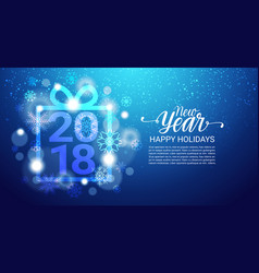 new year background design banner with copy space vector image