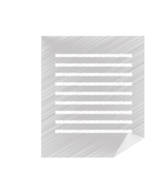 office documents isolated icons vector image