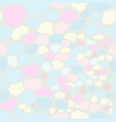 seamless unicorn marble pattern vector image
