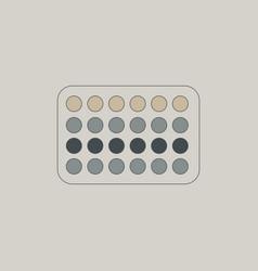 Twister game mat vector