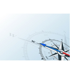 compass west background vector image vector image