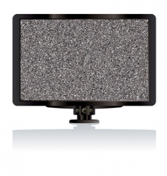 LCD TV monitor vector image vector image