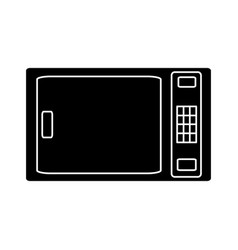 microwave icon image vector image