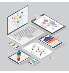 Set of infographics design elements vector