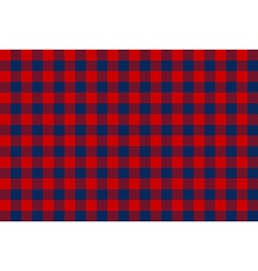 Blue red check seamless background vector