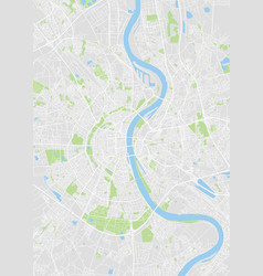 Cologne colored map vector