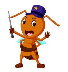 Commander big brown ant vector
